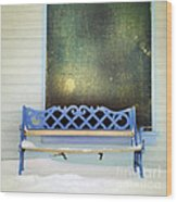 Take A Seat Wood Print by Priska Wettstein