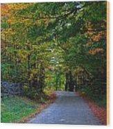 Take Me Home Country Road Wood Print