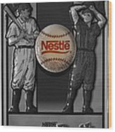 Take Me Out To The Ball Game Wood Print