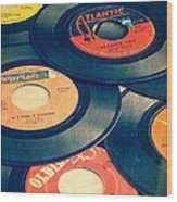 Take Those Old Records Off The Shelf Wood Print by Edward Fielding