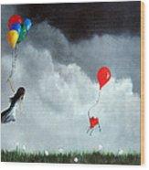 Take Us Home By Shawna Erback Wood Print