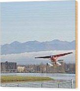 Takeoff 3 Wood Print