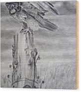 Taking Flight Wood Print