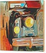 Talbot Lago T15 Ql6 Wood Print