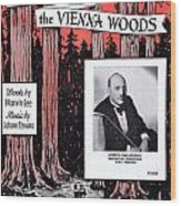 Tales From The Vienna Woods Wood Print