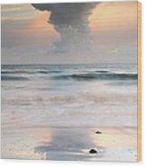 Talisker Bay At Sunset Wood Print
