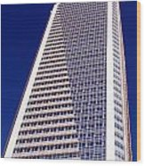 Tall Highrise Building Wood Print