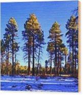 Tall Ponderosa Pine Wood Print