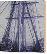 Tall Ship 2 Wood Print