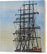 Tall Ship Beauty Wood Print
