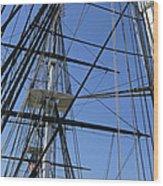 Tall Ship I Wood Print