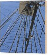 Tall Ship IIi Wood Print