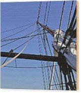 Tall Ship Iv Wood Print