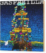 Tall Ship Jose Gasparilla Wood Print