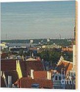 Tallinn Old Town 3 Wood Print