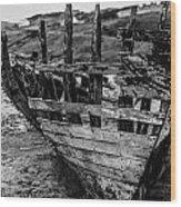 Talmine Shipwreck Wood Print