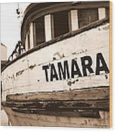 Tamara Wood Print