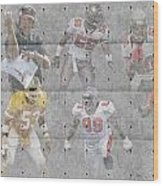 Tampa Bay Buccaneers Legends Wood Print