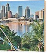 Tampa Bay Florida Wood Print
