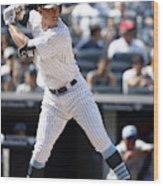 Tampa Bay Rays v New York Yankees Wood Print