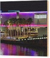 Tampa Museum Of Art In Hdr Wood Print