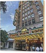Tampa Theater 2 Wood Print by Al Hurley