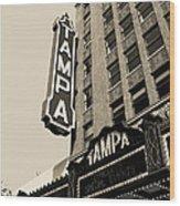 Tampa Theatre Wood Print