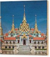 Tang Sai Temple Wood Print