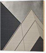 Tangential Wood Print