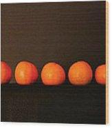 Tangerines Wood Print