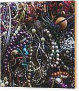 Tangled Baubles Wood Print
