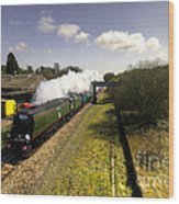 Tangmere At Seaton Junction Wood Print