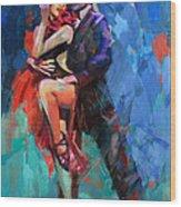 Tango 5 Wood Print