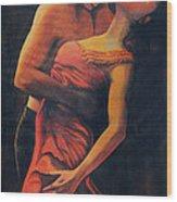 Tango Wood Print