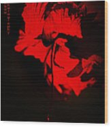 Tango Of Passion For You Wood Print