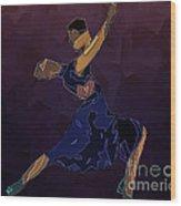 Tango To Heaven Wood Print by Pedro L Gili