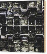 Tank Track Wood Print
