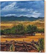 Tanque Verde Ranch Tucson Az Wood Print
