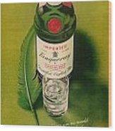 Tanqueray Gin Wood Print