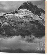 Tantalus Bursting Through The Clouds Wood Print