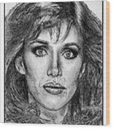 Tanya Roberts In 1981 Wood Print