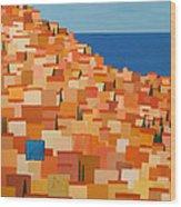 Taormina Wood Print