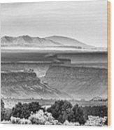 Taos Volcanic Plateau Wood Print