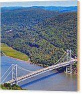 Bear Mountain Bridge 2 Wood Print