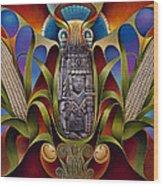 Tapestry Of Gods - Chicomecoatl Wood Print