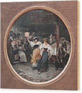 Tarantella Wood Print