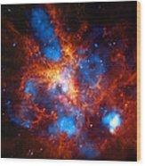 Tarantula Nebula Wood Print