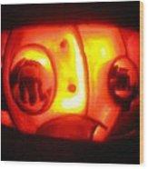 Tarboy Pumpkin Wood Print