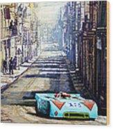 Targa Florio 1970  Porsche 908 Siffert Wood Print