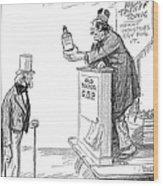 Tariff Bill, 1921 Wood Print